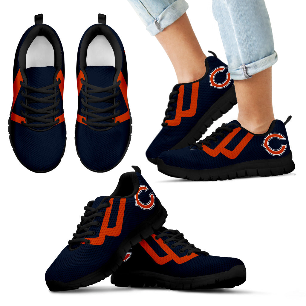 Line Bottom Straight Chicago Bears Sneakers