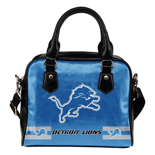 Detroit Lions For Life Shoulder Handbags