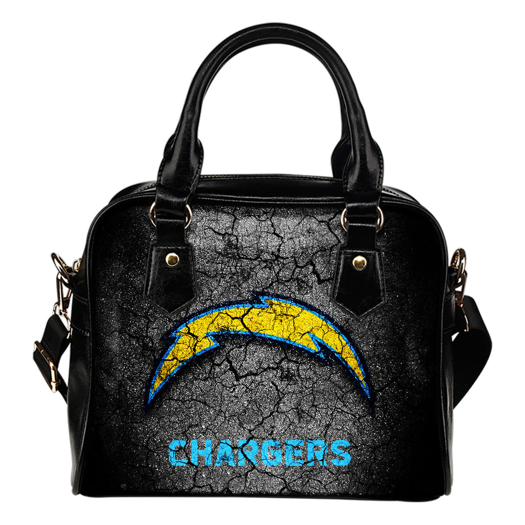 Wall Break Los Angeles Chargers Shoulder Handbags Women Purse