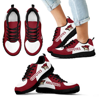 Arizona Coyotes Top Logo Sneakers