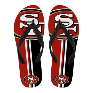 San Francisco 49ers Fan Gift Two Main Colors Flip Flops