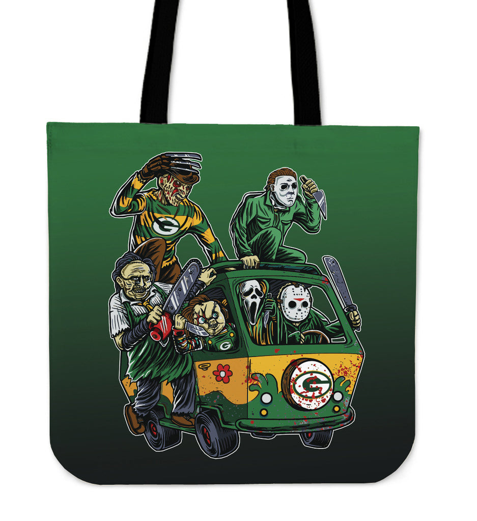 Green Bay Packers The Massacre Machine Tote Bag - Best Funny Store