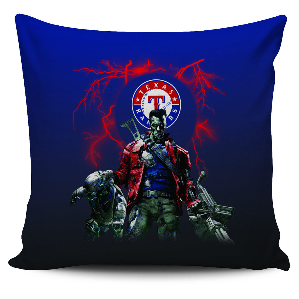 Guns Texas Rangers Pillow Covers - Best Funny Store