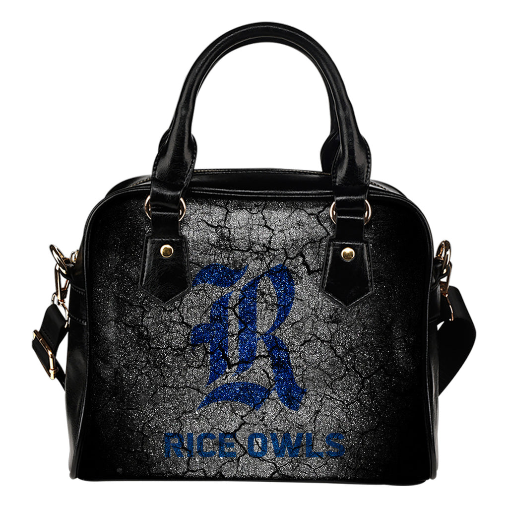 Wall Break Rice Owls Shoulder Handbags Women Purse