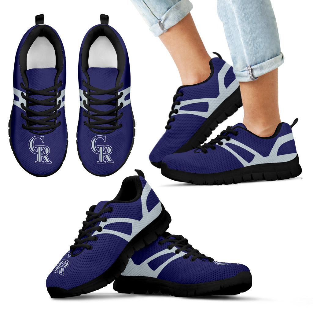 Line Amazing Bottom Colorado Rockies Sneakers