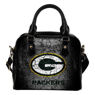 Wall Break Green Bay Packers Shoulder Handbags Women Purse