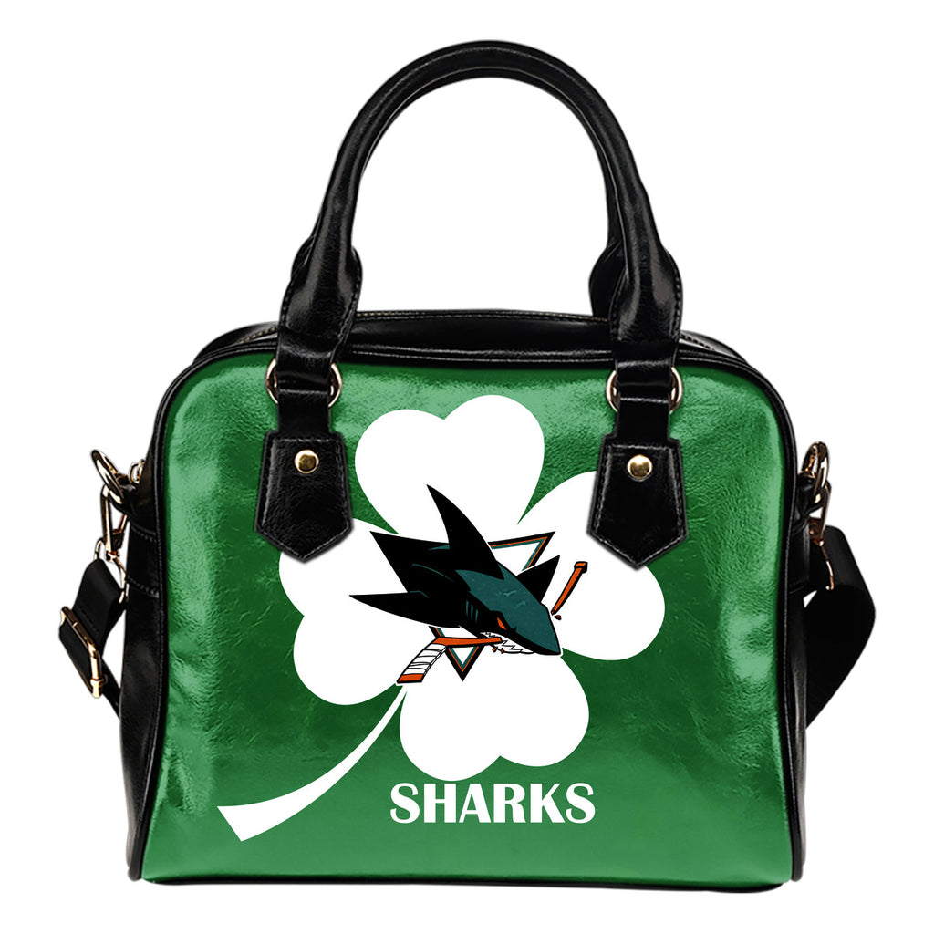 San Jose Sharks Blowing Amazing Stuff Shoulder Handbags