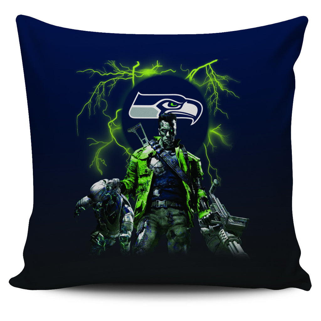 Guns Seattle Seahawks Pillow Covers - Best Funny Store