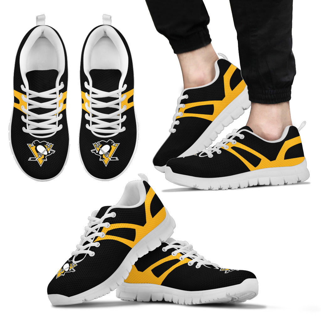 Line Amazing Bottom Pittsburgh Penguins Sneakers