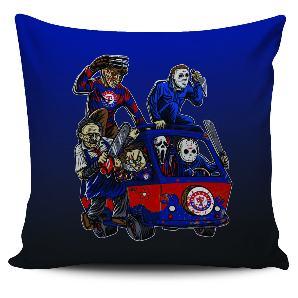 The Massacre Machine Texas Rangers Pillow Covers - Best Funny Store