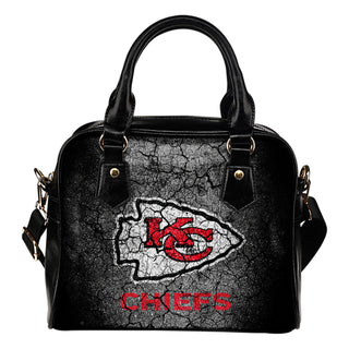 Wall Break Kansas City Chiefs Shoulder Handbags Women Purse