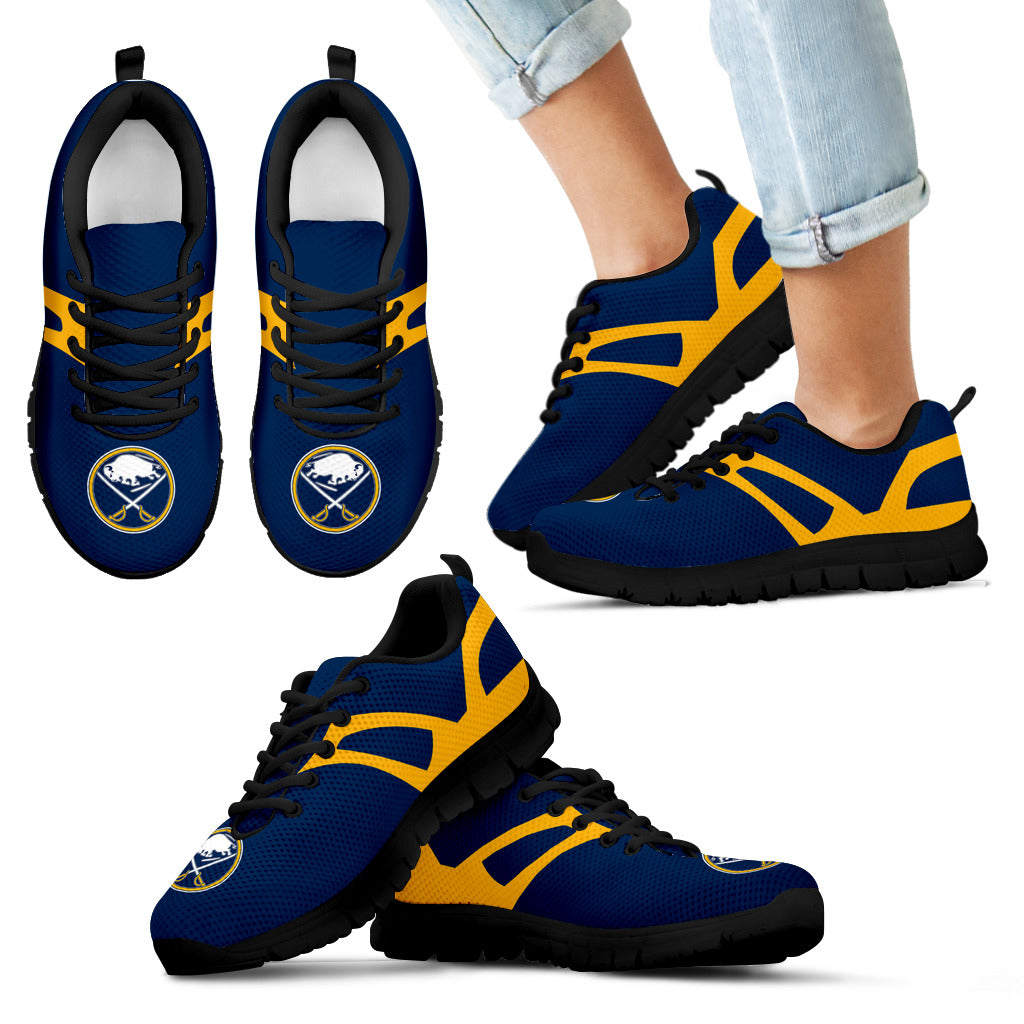 Line Amazing Bottom Buffalo Sabres Sneakers