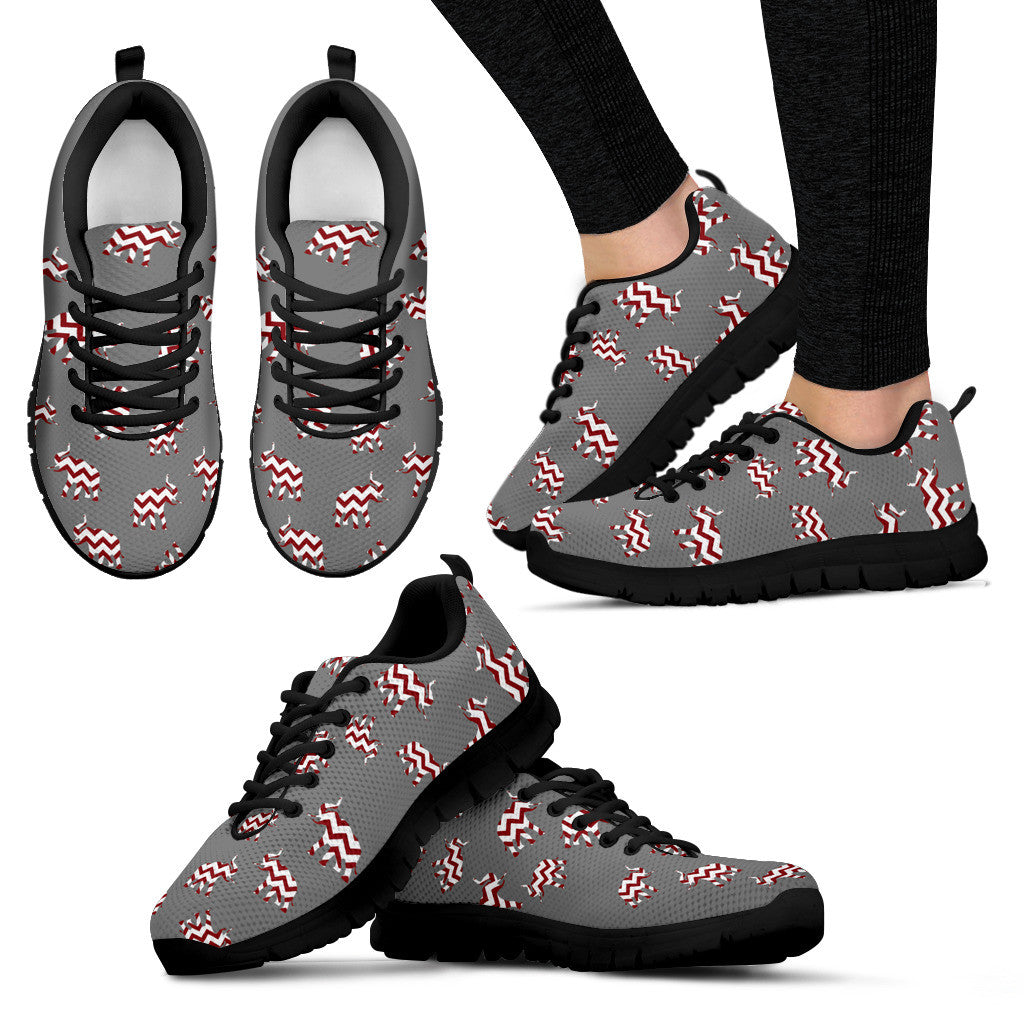 Alabama Crimson Tide Mini Logo Woman Sneakers - Best Funny Store
