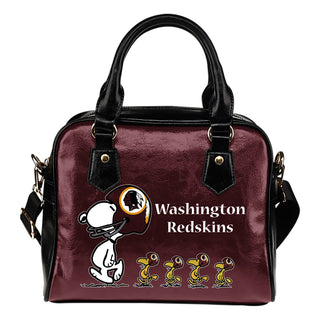 Lovely Animal Team Washington Redskins Shoulder Handbag