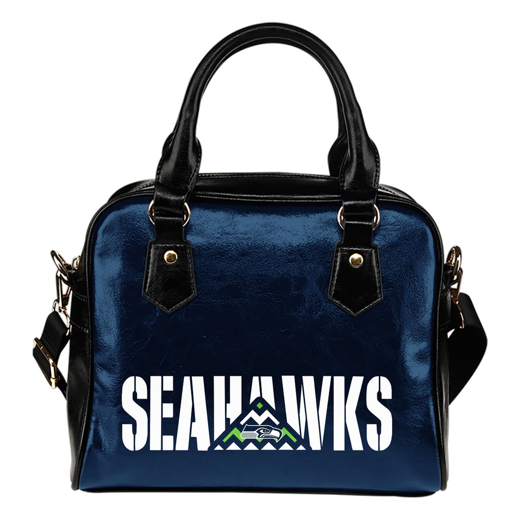 Seattle Seahawks Mass Triangle Shoulder Handbags