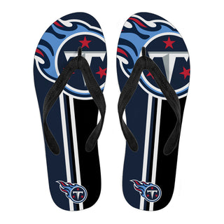 Tennessee Titans Fan Gift Two Main Colors Flip Flops
