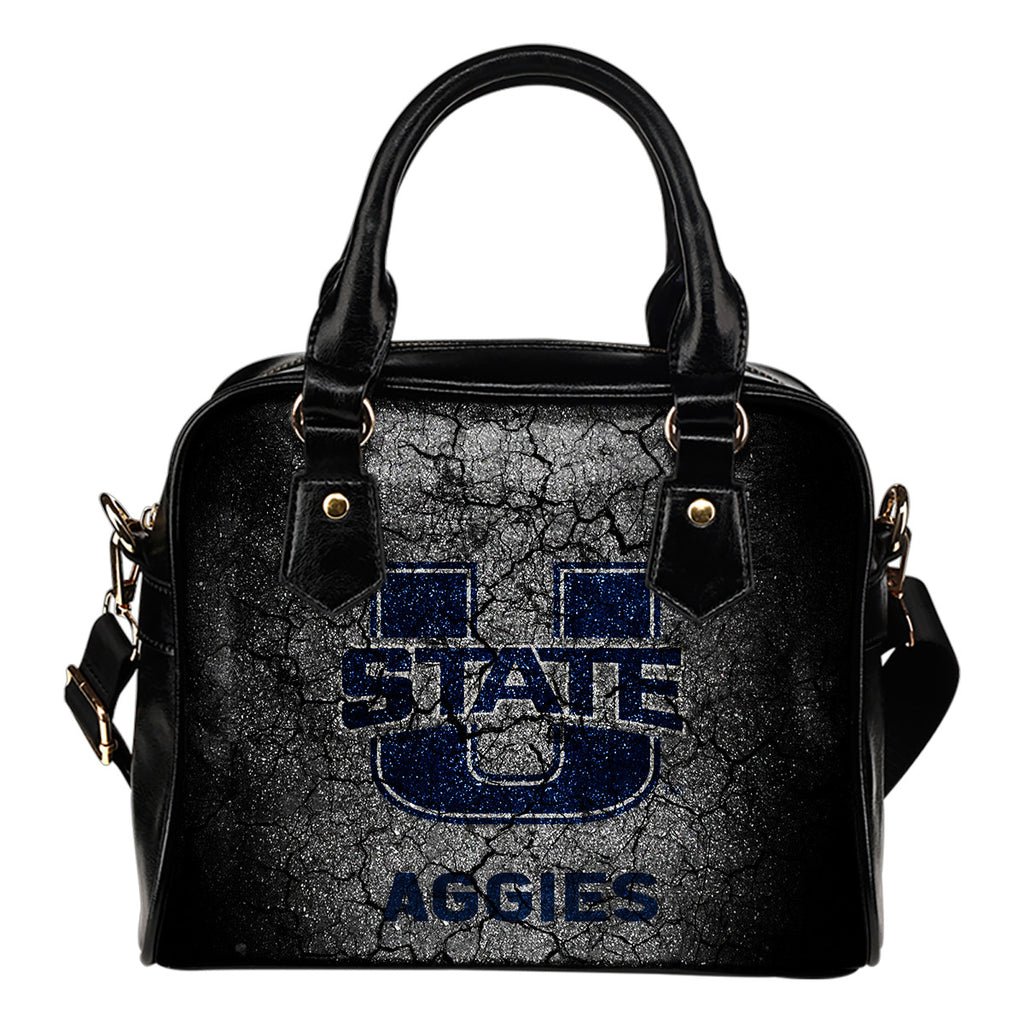 Wall Break Utah State Aggies Shoulder Handbags Women Purse