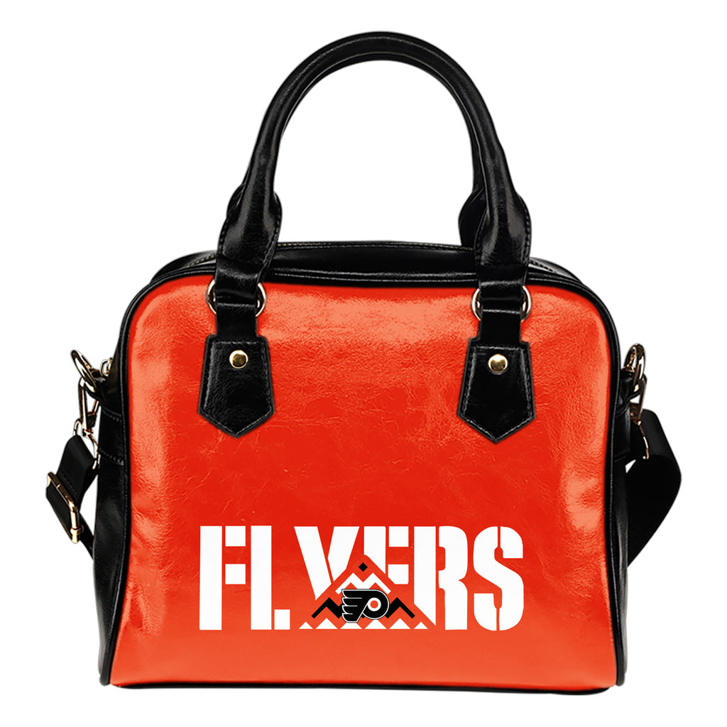 Philadelphia Flyers Mass Triangle Shoulder Handbags