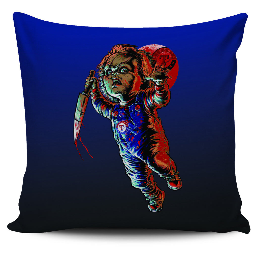 Chucky Texas Rangers Pillow Covers - Best Funny Store