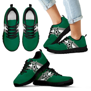 Three Colors Vertical Dallas Stars Sneakers