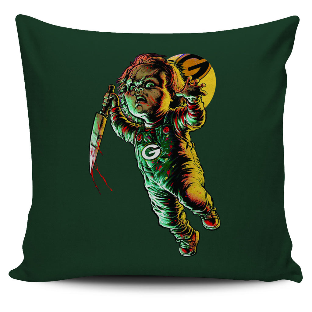 Chucky Green Bay Packers Pillow Covers - Best Funny Store