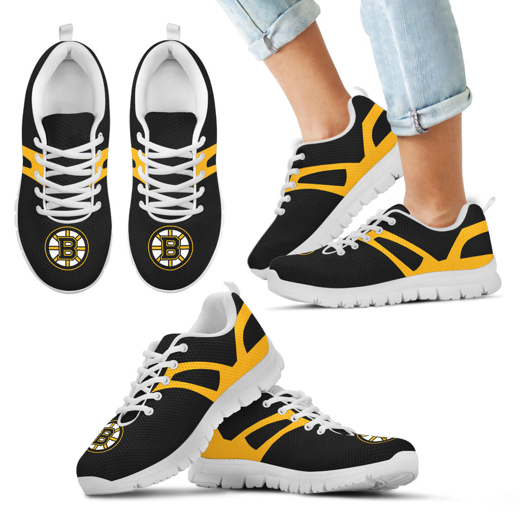 Line Amazing Bottom Boston Bruins Sneakers