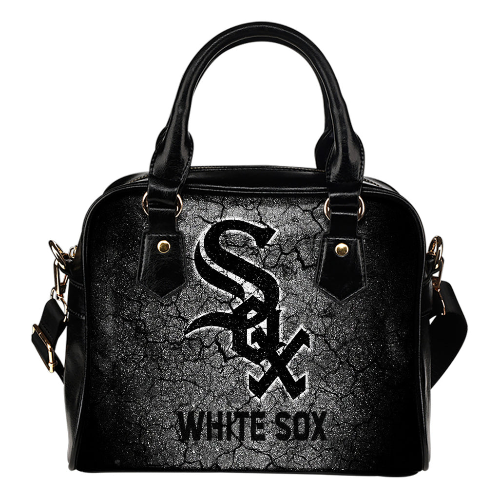 Wall Break Chicago White Sox Shoulder Handbags Women Purse