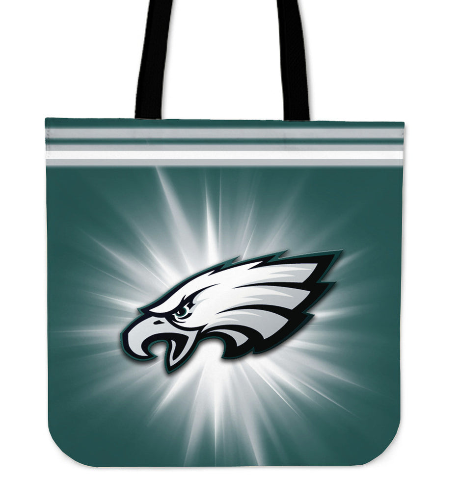 Philadelphia Eagles Flashlight Tote Bags - Best Funny Store