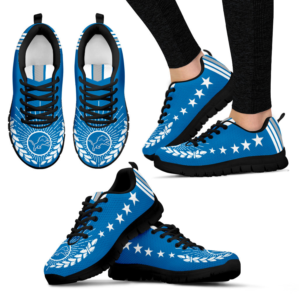Line Of Stars Victory Detroit Lions Sneakers