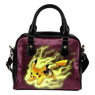 Pikachu Angry Moment Florida State Seminoles Shoulder Handbags