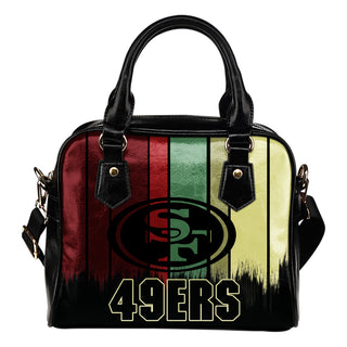 Vintage Silhouette San Francisco 49ers Purse Shoulder Handbag