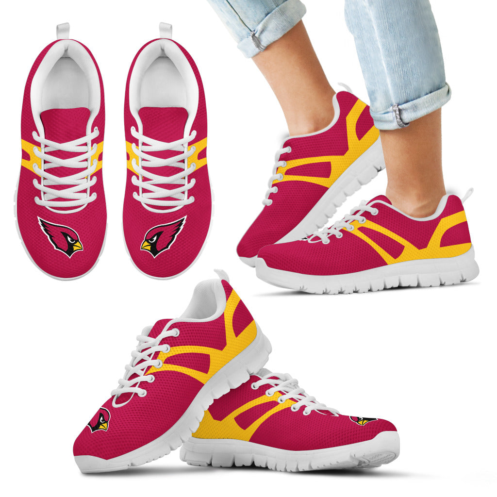 Line Amazing Bottom Arizona Cardinals Sneakers