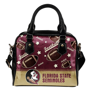 Personalized American Football Awesome Florida State Seminoles Shoulder Handbag