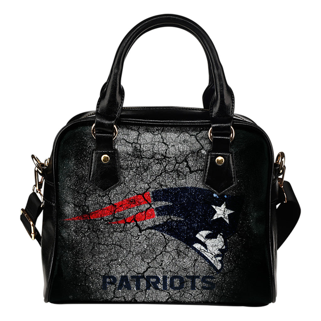 Wall Break New England Patriots Shoulder Handbags Women Purse