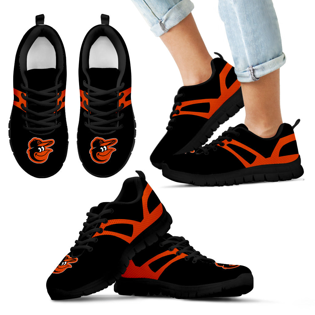 Line Amazing Bottom Baltimore Orioles Sneakers