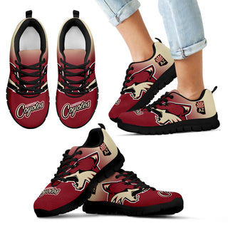 Special Unofficial Arizona Coyotes Sneakers