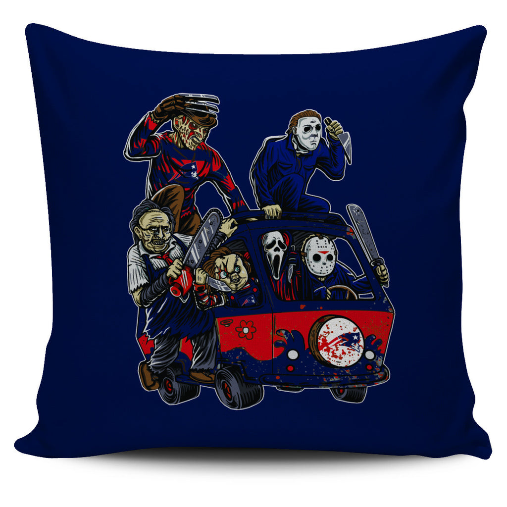 The Massacre Machine New England Patriots Pillow Covers - Best Funny Store