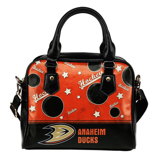Personalized American Hockey Awesome Anaheim Ducks Shoulder Handbag