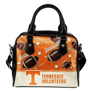 Personalized American Football Awesome Tennessee Volunteers Shoulder Handbag