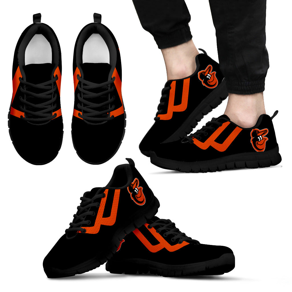 Line Bottom Straight Baltimore Orioles Sneakers