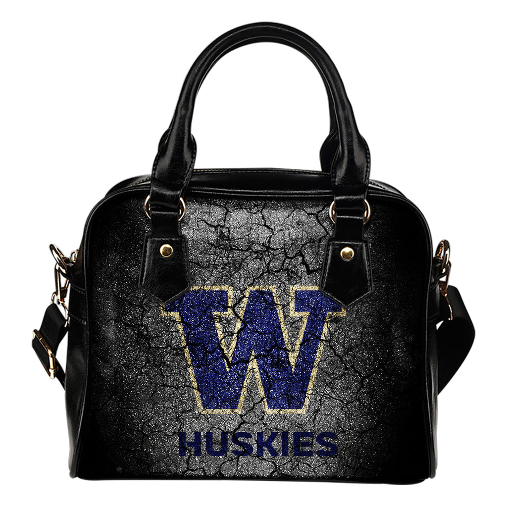 Wall Break Washington Huskies Shoulder Handbags Women Purse