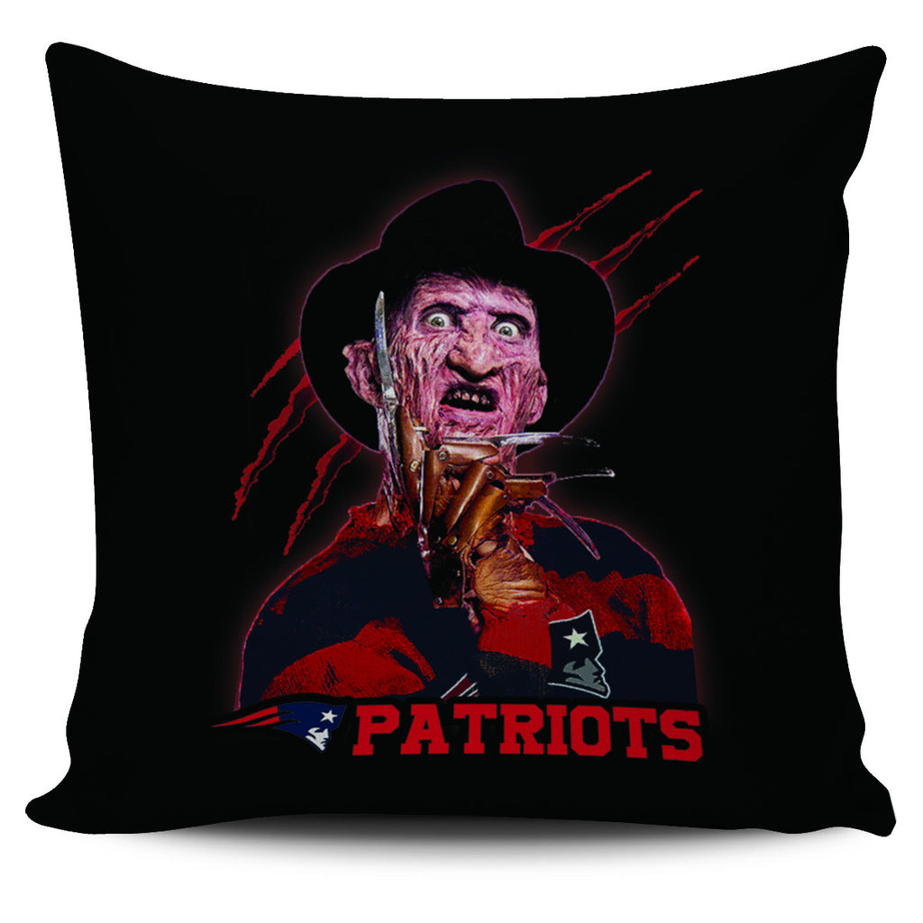 Freddy New England Patriots Pillow Covers - Best Funny Store