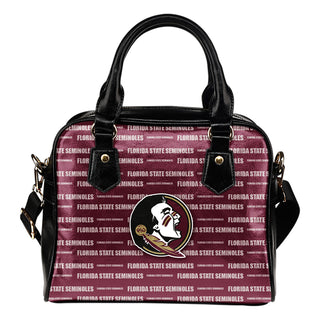 Nice Little Logo Florida State Seminoles Shoulder Handbags