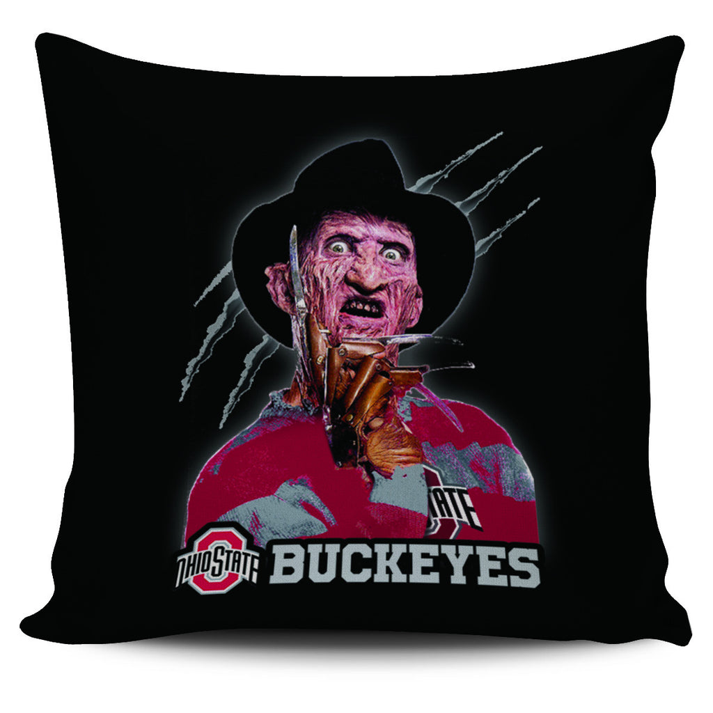 Freddy Ohio State Buckeyes Pillow Covers - Best Funny Store