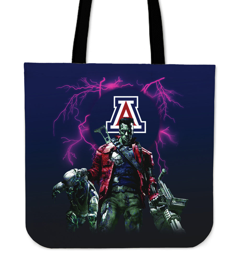 Arizona Wildcats Guns Tote Bag - Best Funny Store