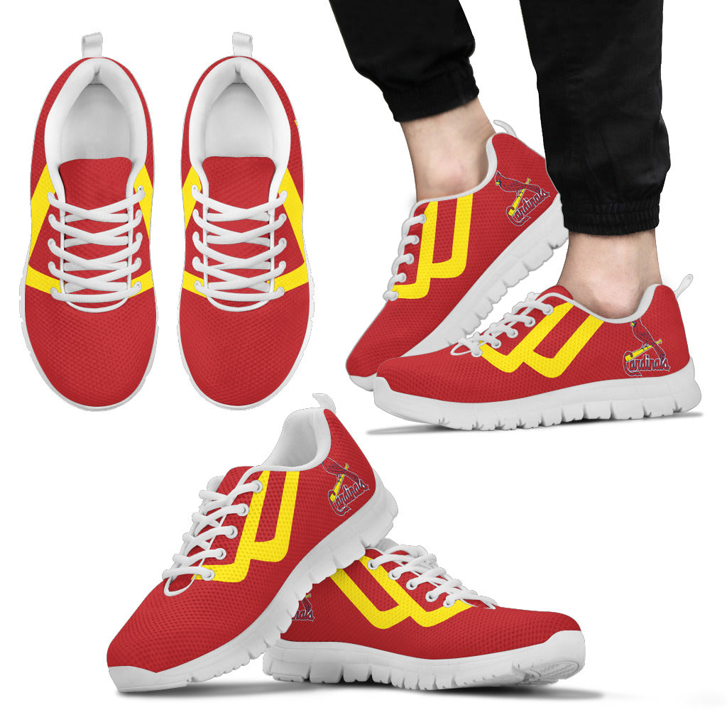Line Bottom Straight St. Louis Cardinals Sneakers
