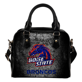 Wall Break Boise State Broncos Shoulder Handbags Women Purse