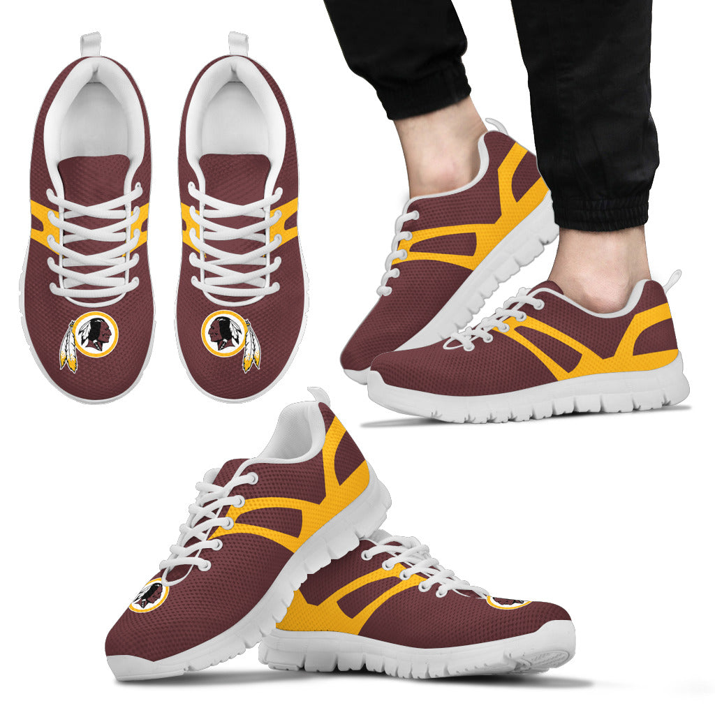 Line Amazing Bottom Washington Redskins Sneakers