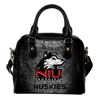 Wall Break Northern Illinois Huskies Shoulder Handbags Women Purse