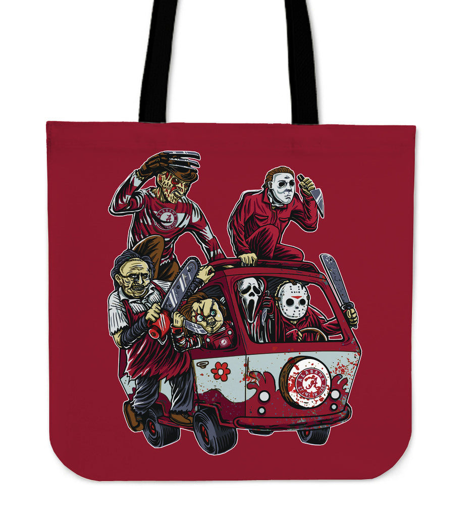 Alabama Crimson Tide The Massacre Machine Tote Bag - Best Funny Store